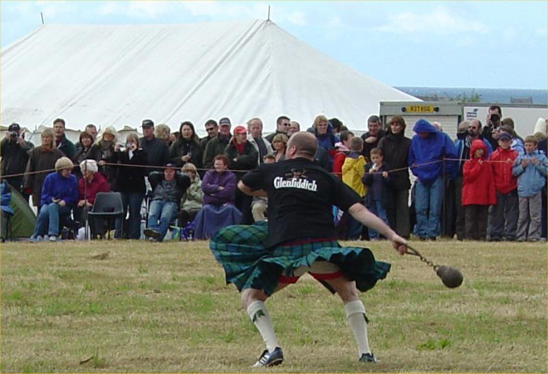 Photo: Mey Highland Games 2005