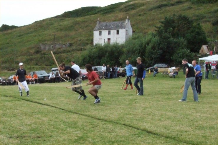 Photo: World Knotty Championships And Lifeboat Day At Lybster