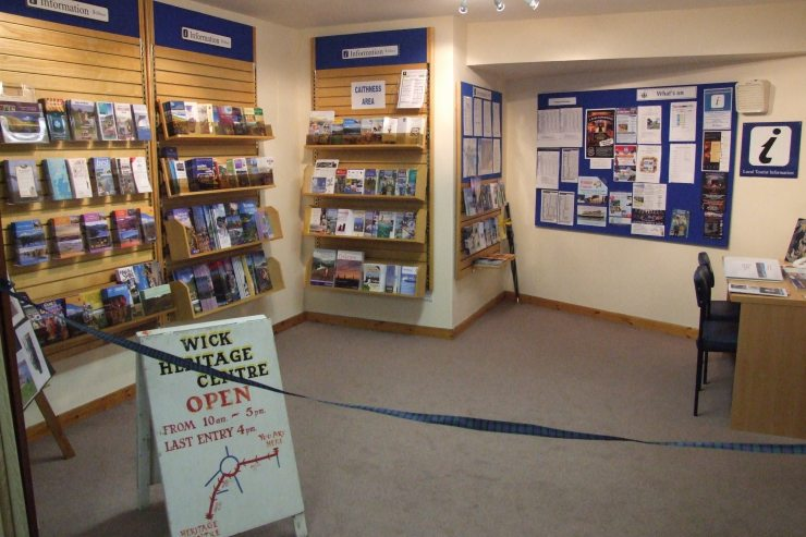 Photo: Inside the New Tourist Information Centre At McAllan's, Wick