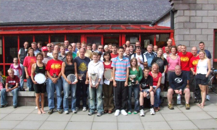 Photo: Wick Triathlon 2006 winners and Participants