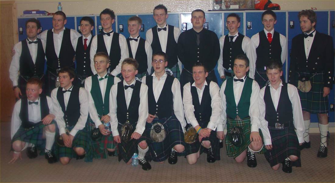 Photo: 240 At The Wick High Prom 2005 - Here Are A Few Of The Boys