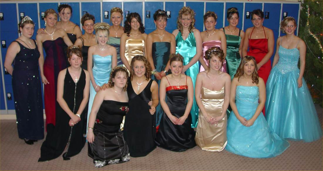 Photo: 240 At The Wick High Prom 2005 - Here Are A Few Of The Girls