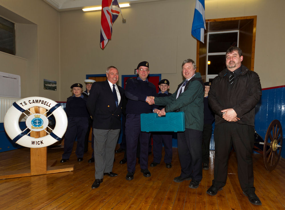 Photo: Wick Sea Cadets Presentation