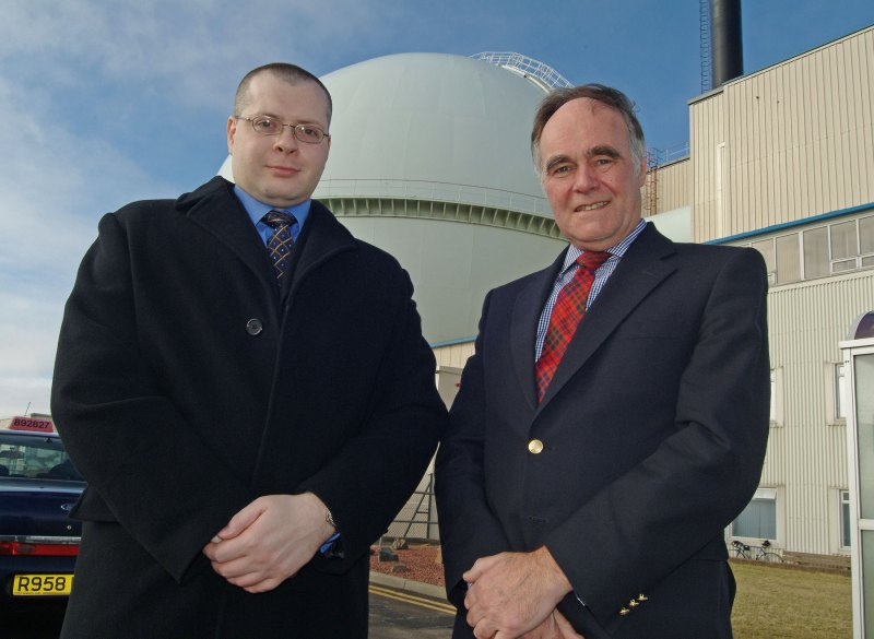 Photo: Angus Ross Conservative Candidate Visits Dounreay