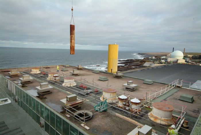 Photo: Dounreay Prototype Fast Reactor Coming Apart