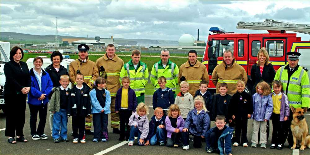 Photo: Mount pleasant Primary School At Dounreay Visitor Centre