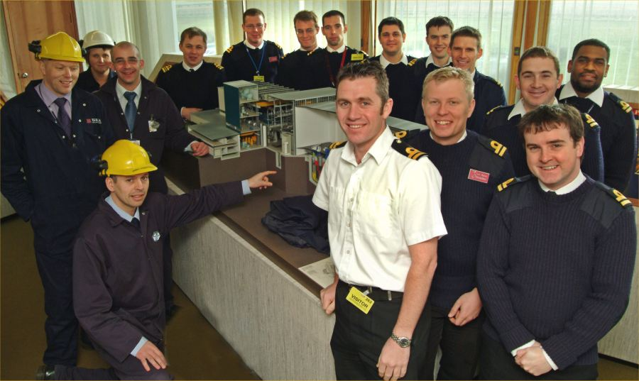 Photo: Royal Navy Students Visit Dounreay
