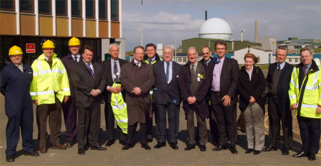 Photo: Nuclear Decommissioning Authority Board Visit To Dounreay