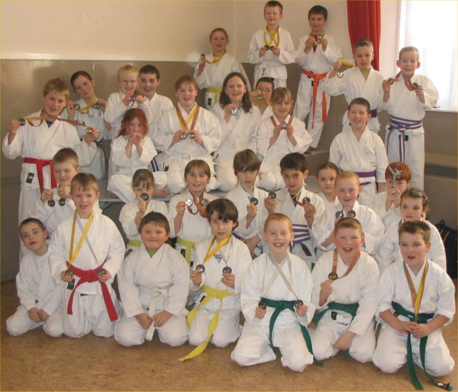 Photo: Caithness Tora Kai Karate Club Junior Competition