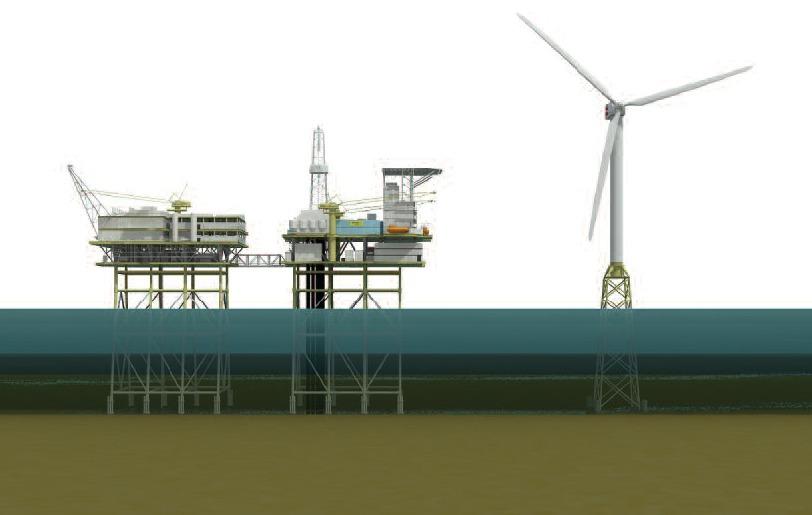 Photo: Artists Impression Of A Turbine For Beatrice Wind Farm