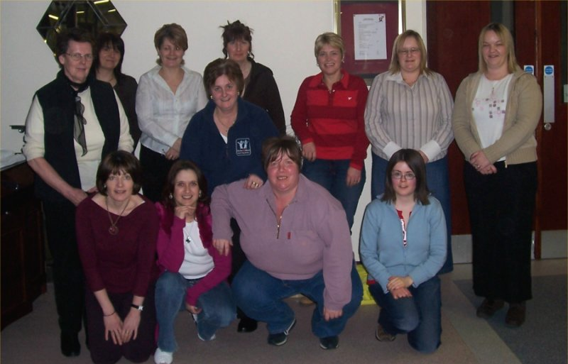 Photo: Homestart Volunteers Get The Full Treament At North Highland College