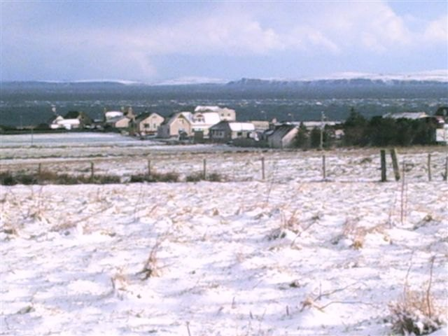 Photo: Winter Finally Comes To Caithness - John O'Groats 1 March 2006