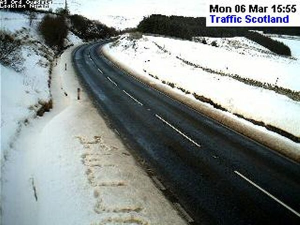 Photo: Caught On Traffic Scotland Camera North Of Helmsdale