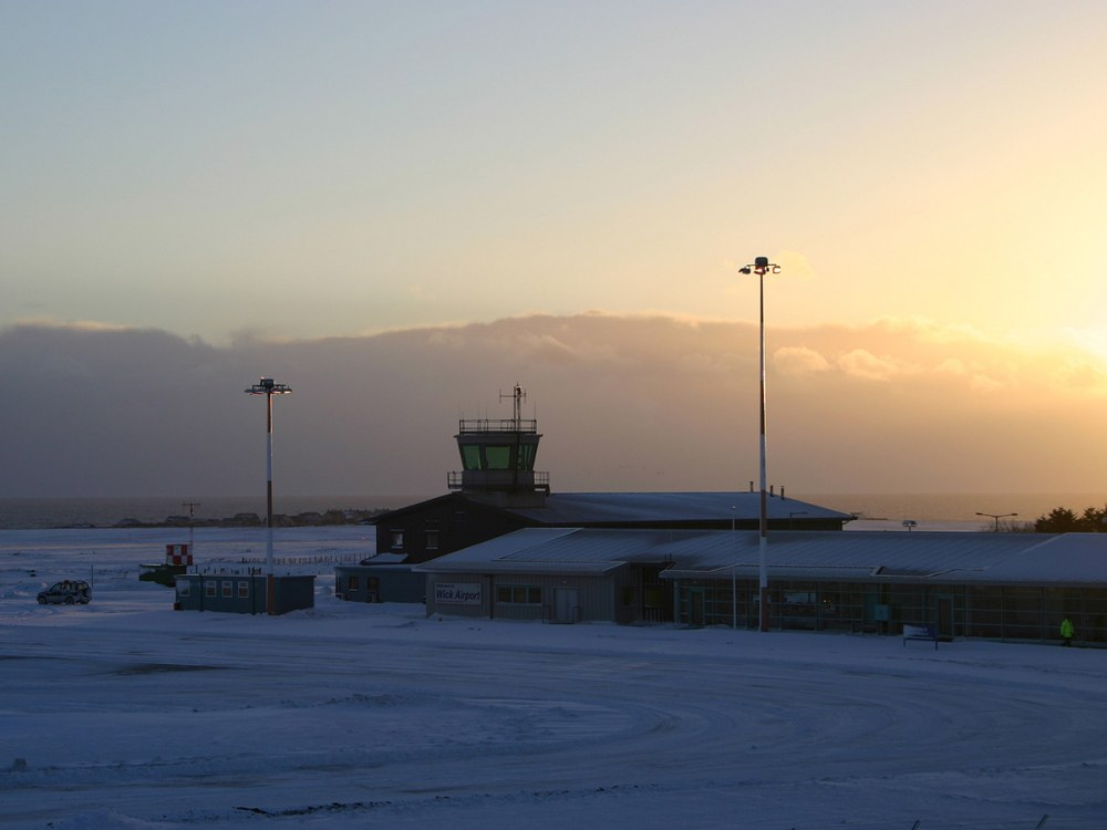 Photo: Wick Airport - Early Morning 6 March 2006