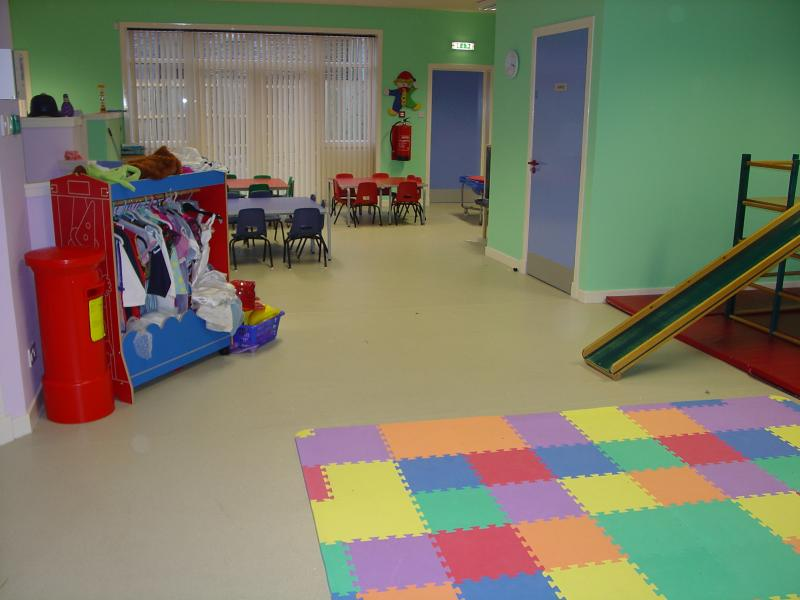 Photo: Inside the New Wick Family Centre