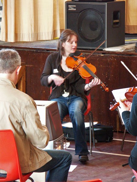 Photo: Wick Traditional Music Workshop - Alison Smith