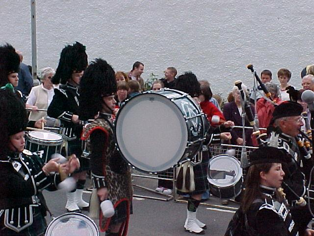 Photo: Halkirk Gala  - Thurso Pipe Band