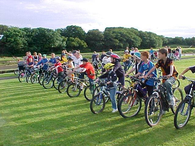 Photo: Wick Cycle Races