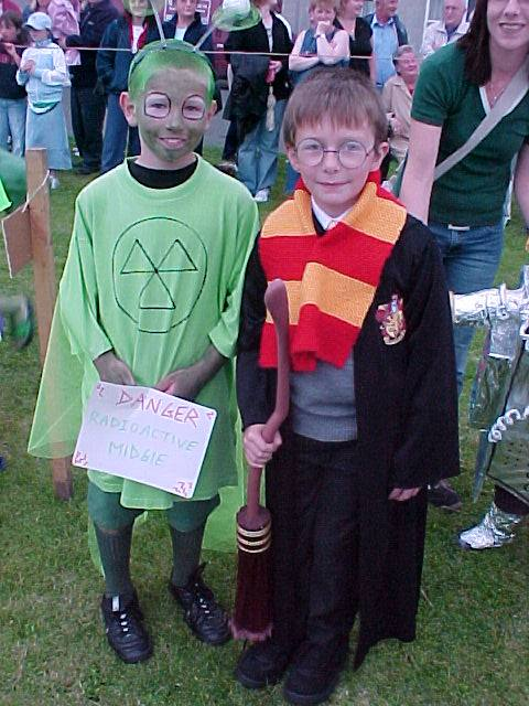 Photo: Fancy Dress At Braehead
