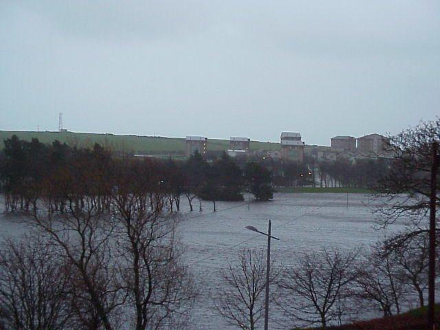 Photo: Flooding Seen From Janet Street - Thurso
