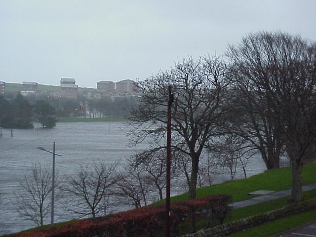 Photo: Flooding Seen From Janet Street - Thurso