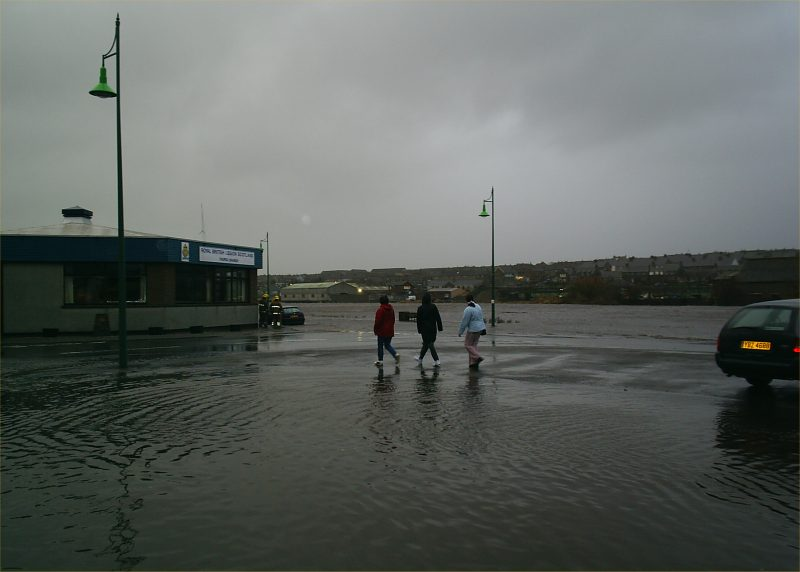 Photo: Thurso River Flood