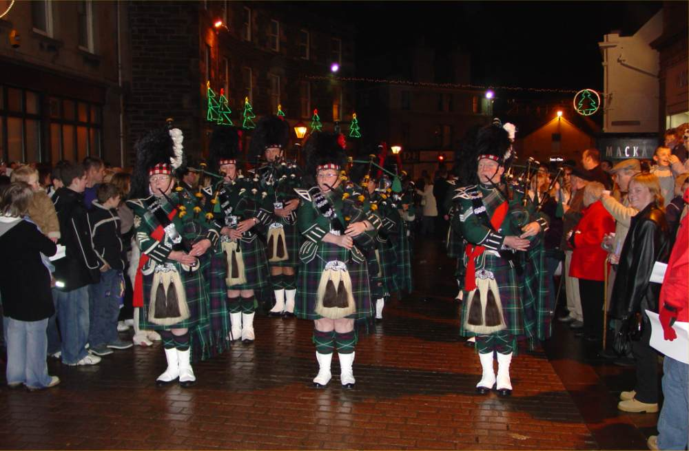 Photo: Wick - Hogmanay Street Party