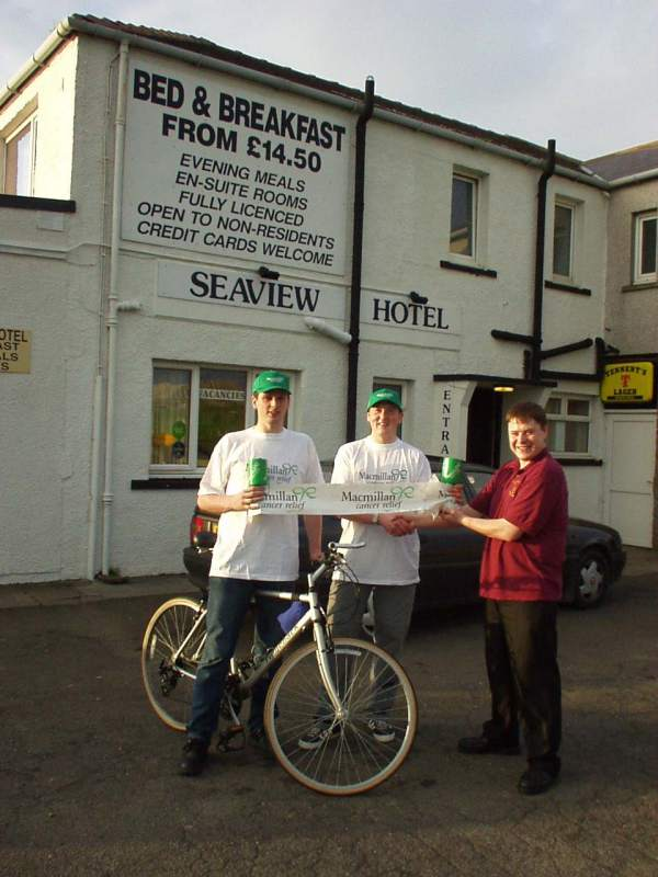Photo: Seaview Hotel Backs Cycle Run
