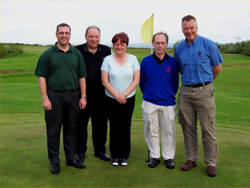 Photo: Texas Scramble Winner At Lybster Golf Club