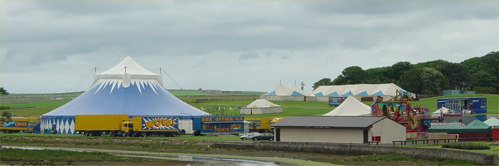 Photo: The Circus Big Top At Riverside Wick