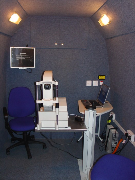 Photo: New Highland Mobile Diabetic Retinopathy Service At Wick