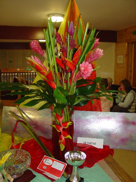 Photo: Floral Art Competition Winner - Wick Gala 2006