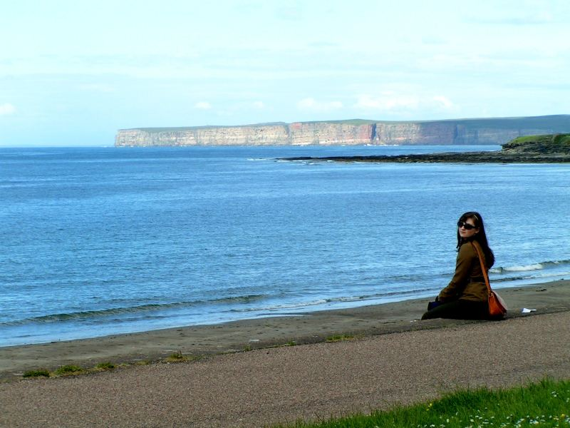 Photo: Claire Thompson At Thurso - July 2006