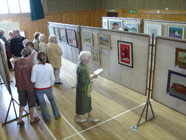 Photo: Lady Thurso Opened The Art Exhibition For Wick Gala Week