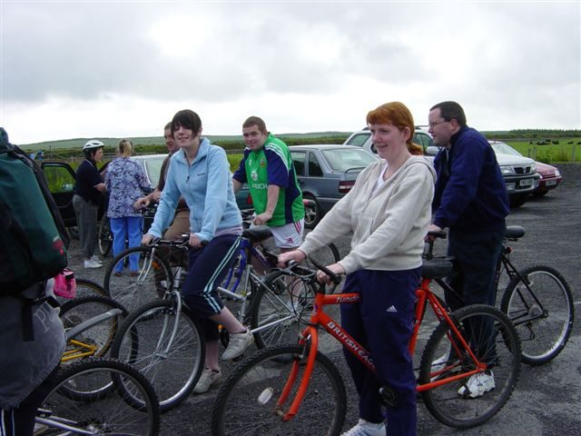 Photo: Mey Hall Sponsored Cycle Raises �1700 For New Hall Project