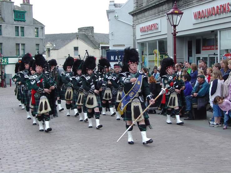 Photo: Pipe Band Week At Wick