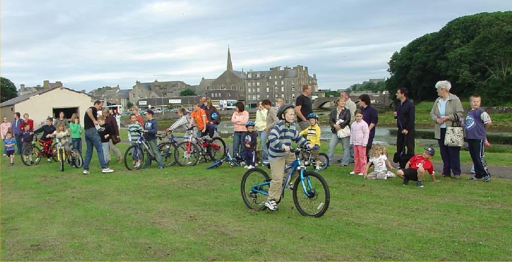 Photo: Wick Gala Cycle Races