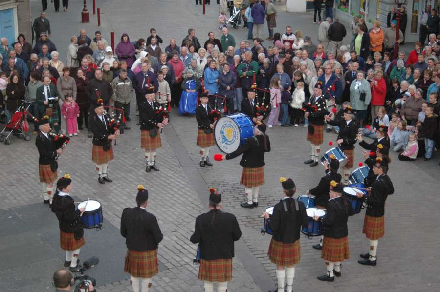 Photo: Pipe Band Festival - Friday 10 June 2005