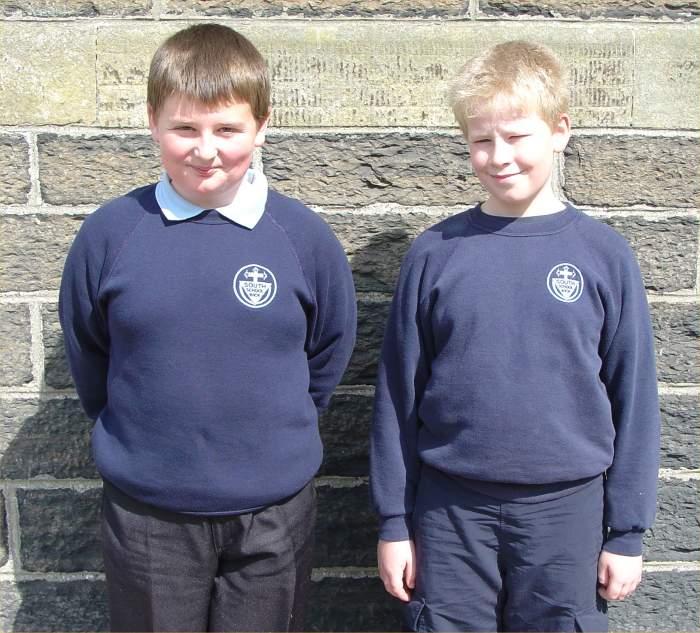 Photo: Soloists South School Ben Gunn & Robert Banks