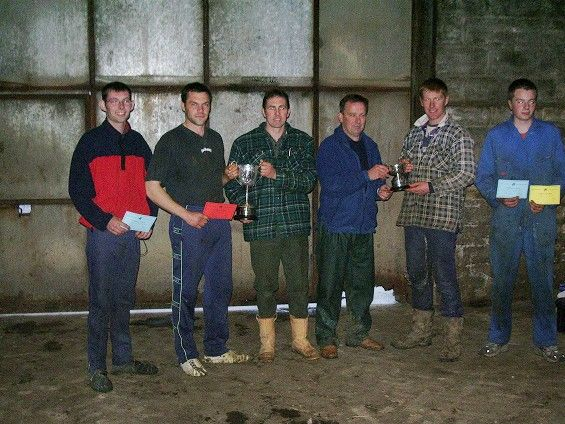 Photo: Caithness Young Farmers Sheep Shearing Comp 2005 - Winner Andrew Sinclair