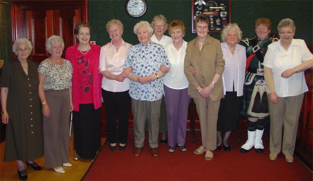 Photo: Wick Girls Pipe Band Reunion  - This Group Went To London