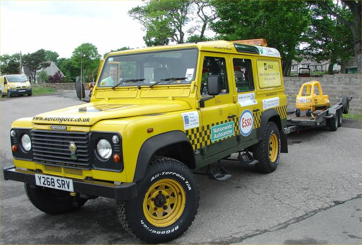 Photo: AA Historical Vehicles Raising Money For Children's Hospital