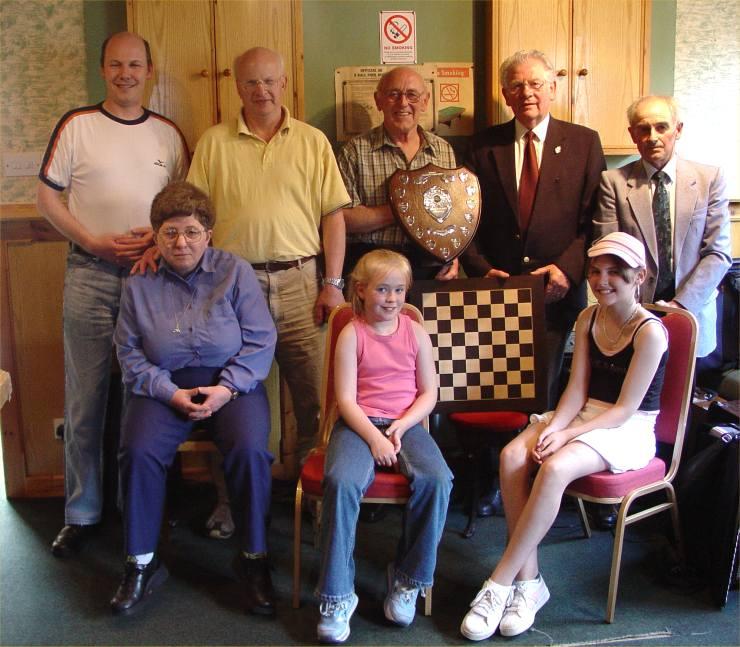 Photo: Hamish Budge Wins John Napier Memorial Drafts Tournament At Halkirk