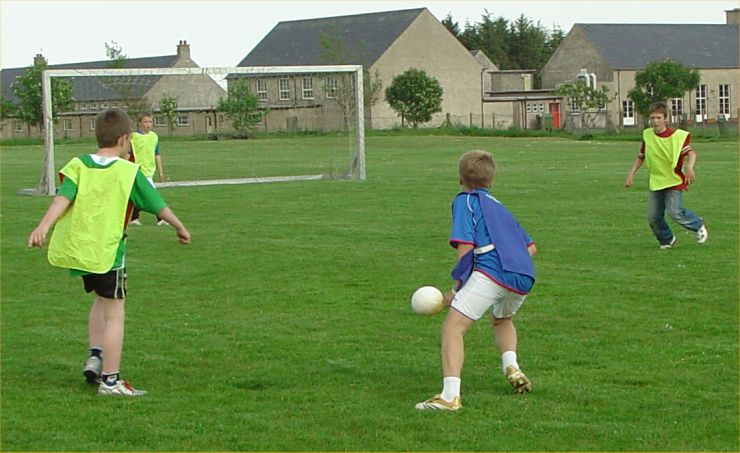 Photo: Halkirk Gala 2006 - Five A Side Football