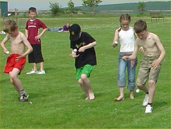 Photo: Halkirk Gala 2006 - Children's Races