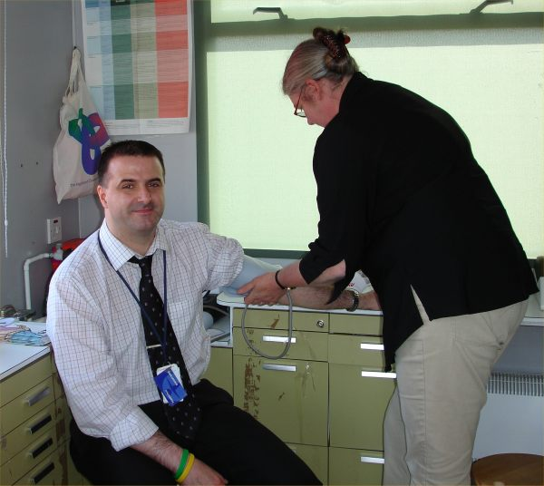 Photo: Blood Pressure Check
