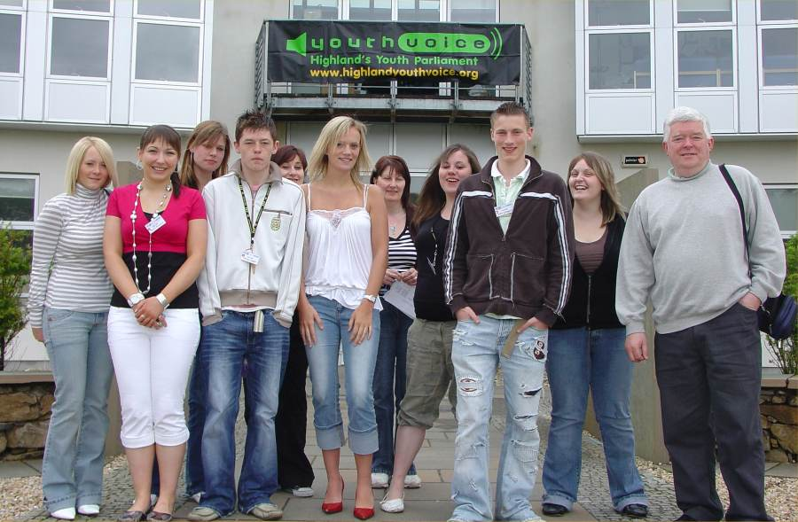 Photo: Caithness Folk At Highland Youth Voice 2006