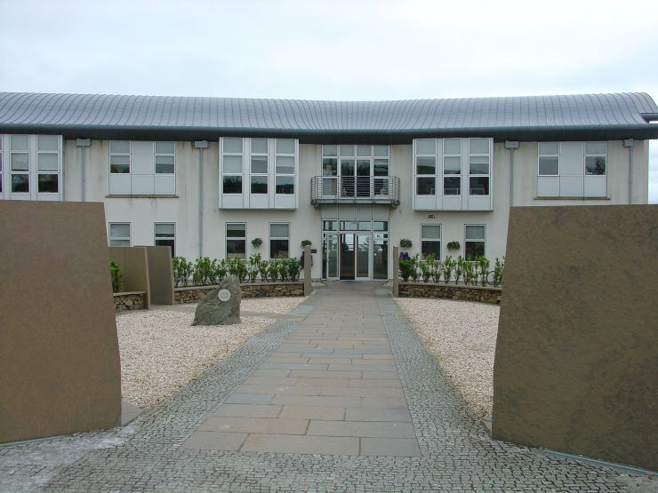 Photo: Sabhal Mor Ostaig - The Gaelic College, Skye