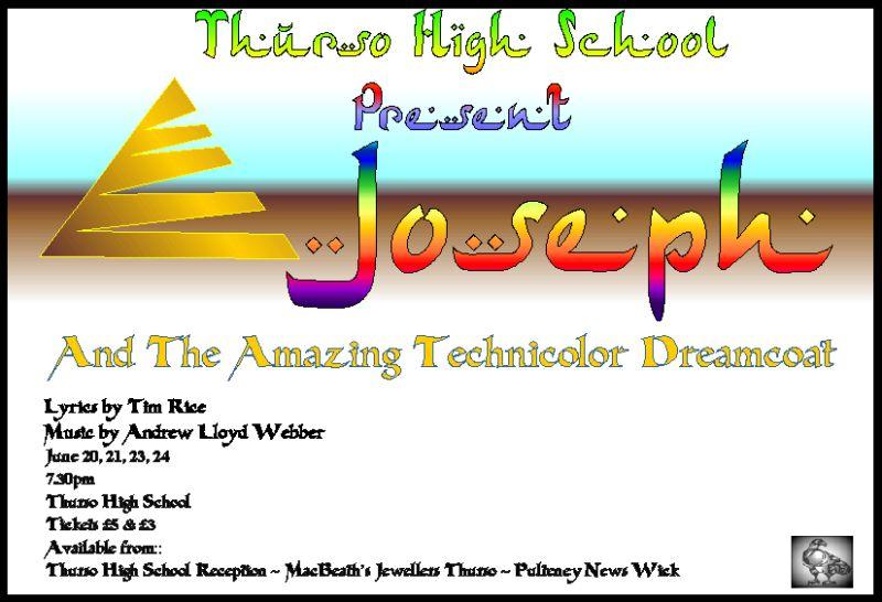 Photo: Joseph And The Amazing Technicolour Dreamcoat 20, 21, 23, 24 June