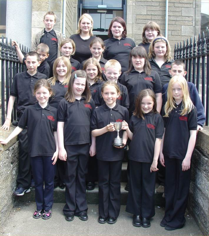 Photo: Caithness and North Sutherland Junior Choir